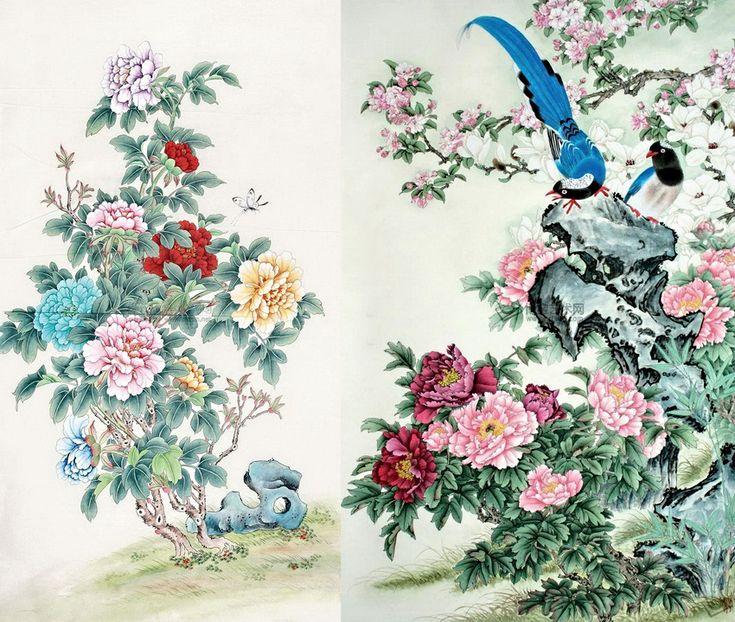 Весеннее. Китайская каллиграфия. Обсуждение на LiveInternet - Российский Сервис Онлайн-Дневников