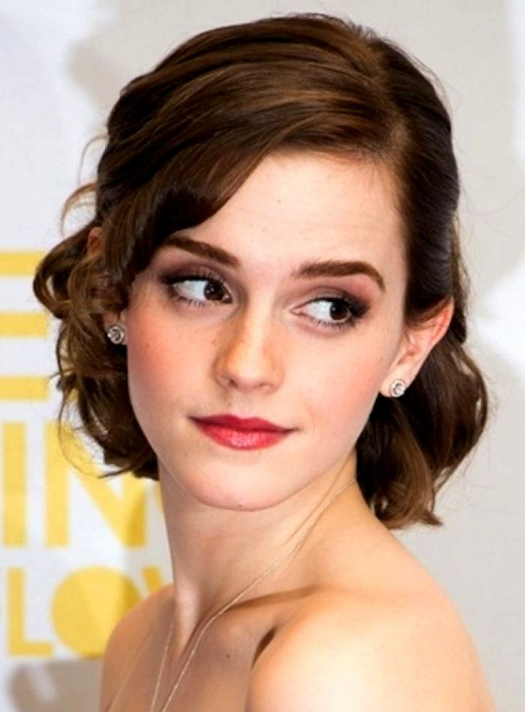 Short Hairstyles Short Hairstyles For Bridesmaids Wedding For Bridesmaid Updos For Short Ha Short Wedding Hair Wedding Hairstyles Bridesmaid Emma Watson Hair