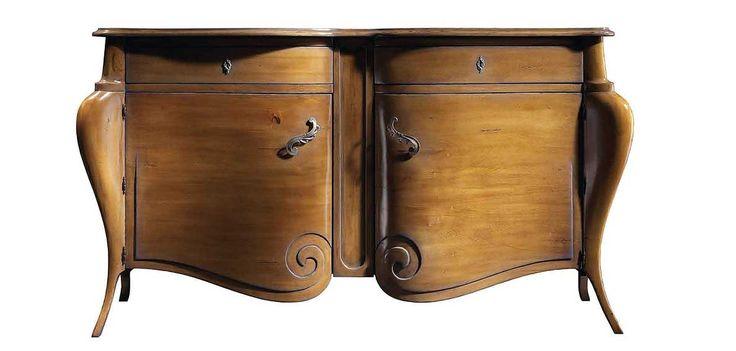 Mueble de madera de cerezo