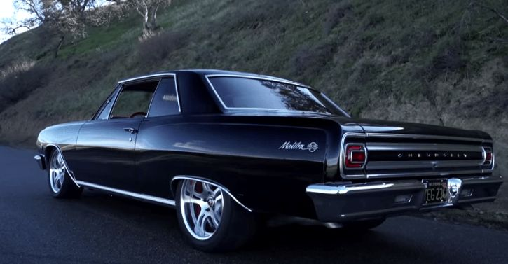 built 1965 chevy malibu ss on hot cars