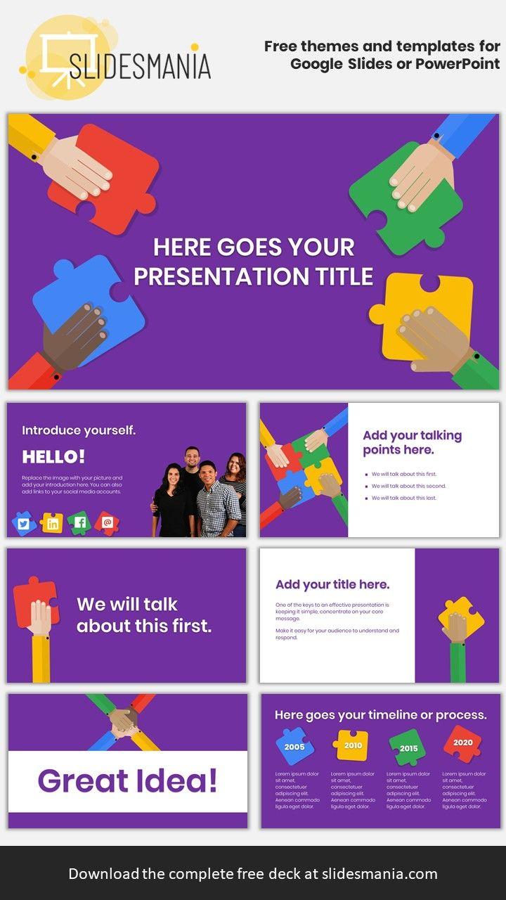 Garner Free Template For Google Slides Or Powerpoint Presentations Powerpoint Presentation Powerpoint Presentation Design Presentation Template Free