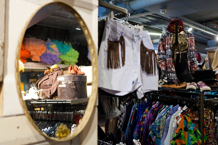 Beyond Retro is a chain of vintage stores that can be found both in Sweden and UK. Here one can find a large selection of hand picked vintage fashion. Photo by Tuukka Ervasti
