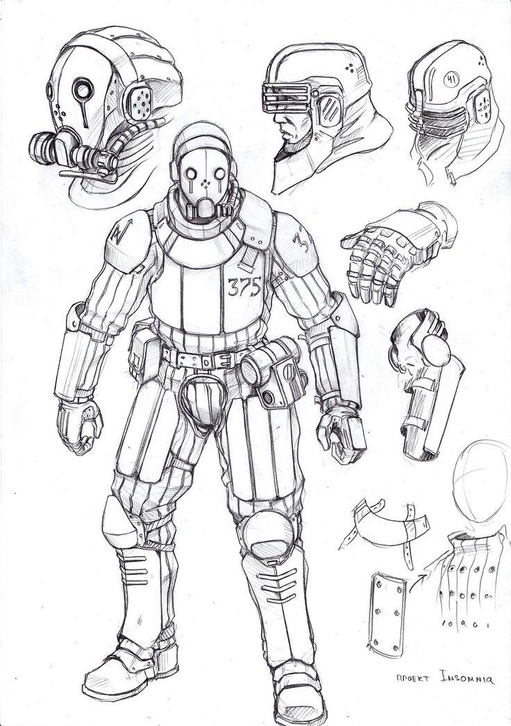 Light soldier - InSomnia RPG by TugoDoomER.deviantart.com on @DeviantArt