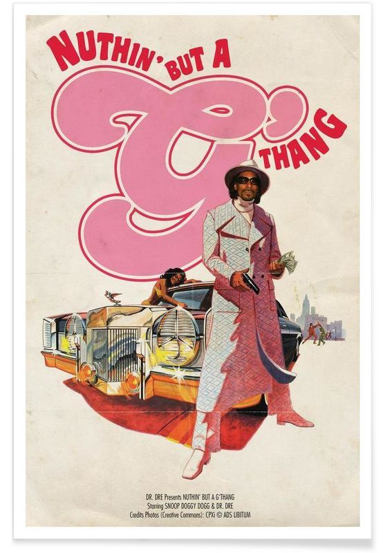 G as Premium Poster by Ads Libitum | JUNIQE UK