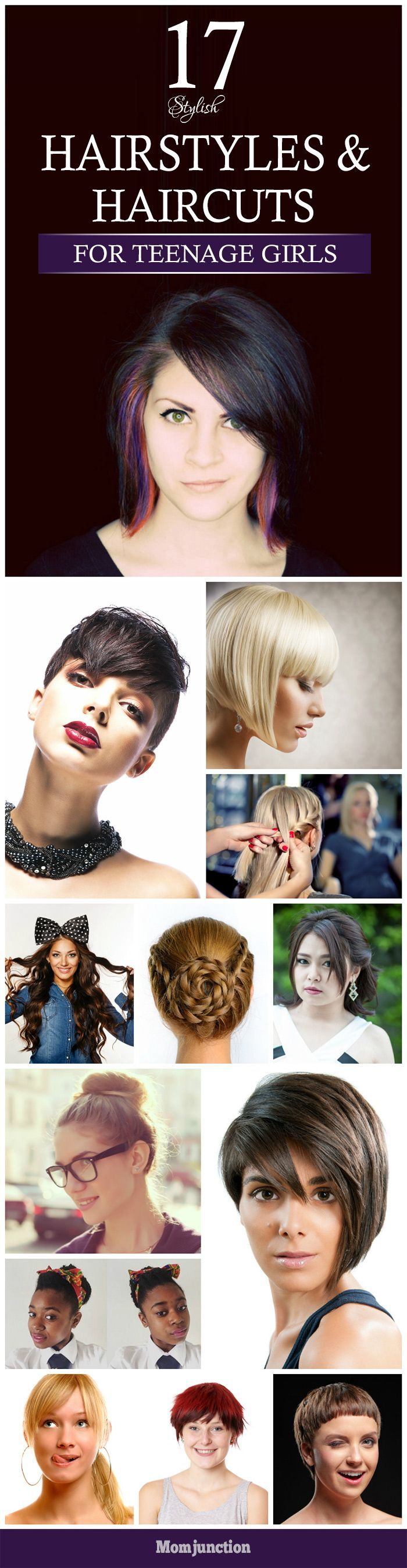 awesome 17 Stylish Hairstyles And Haircuts For Teenage Girls