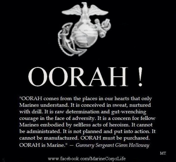 Oorah Seven Weeks Into Boot Camp More Than Half Way There