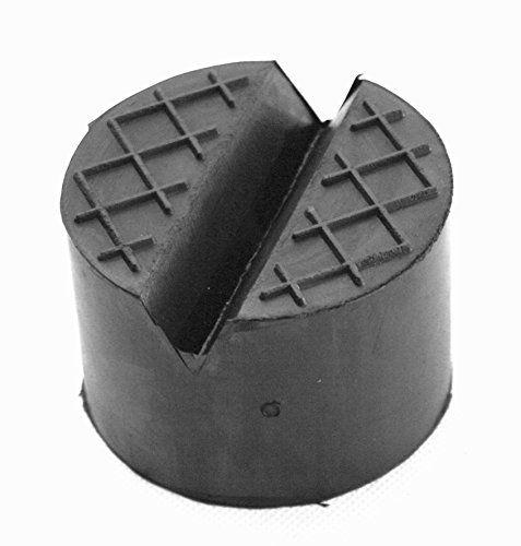 Gummiauflage d=125x50mm mit V-Nut & Waffel für Wagenheber und Hebebühnen - http://autowerkzeugekaufen.de/gummiprodukt/gummiauflage-d-125x50mm-mit-v-nut-waffel-fuer-und