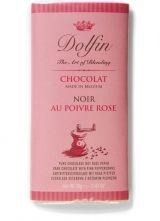 Dolfin 70g. Ciocolata neagra cu piper roz
