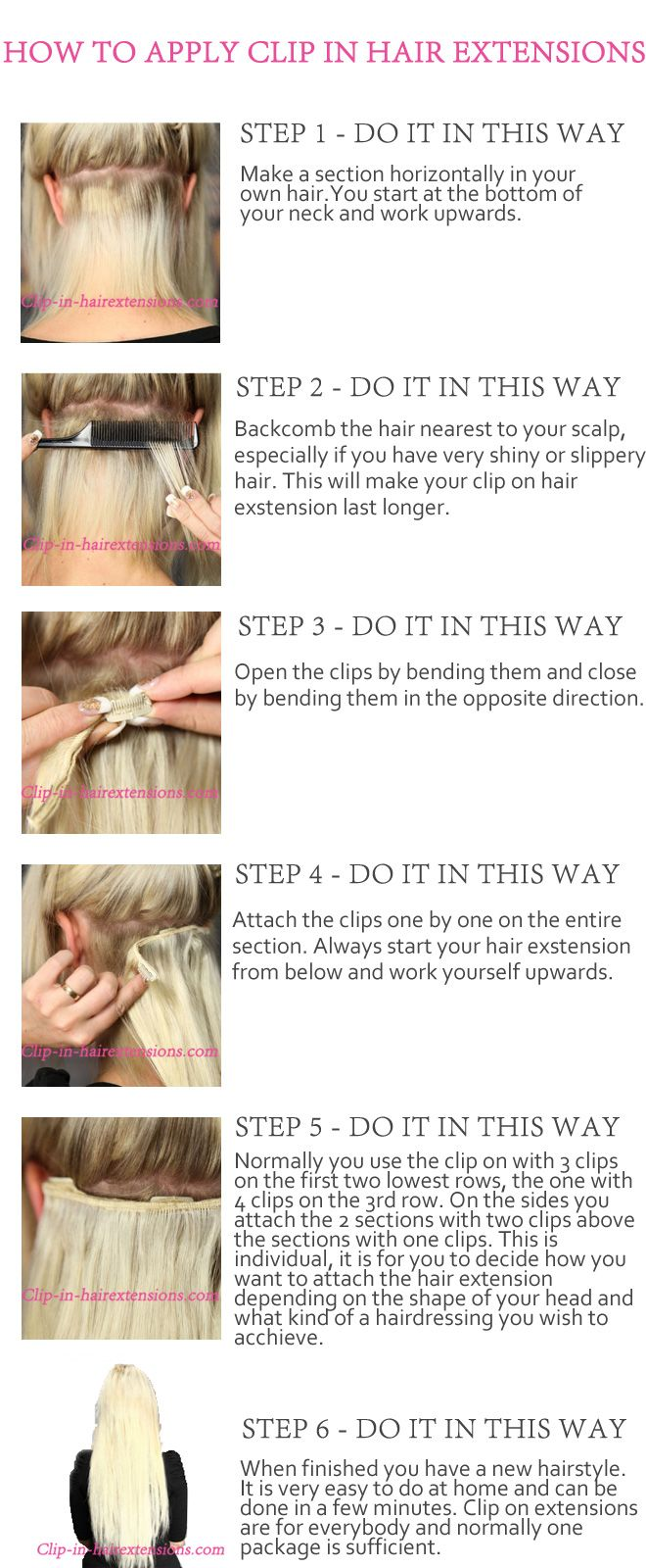 Clip on hair extensions are used by many celebrities around the world. Overstyling can take its toll on hair, which is why some stars like as Beyonce,Lady Gaga, Jennifer Lopez have taken to wearing wigs and extensions on the red carpet. Clip on is the most lenient hair extensions method and you are ready in 5 minutes!