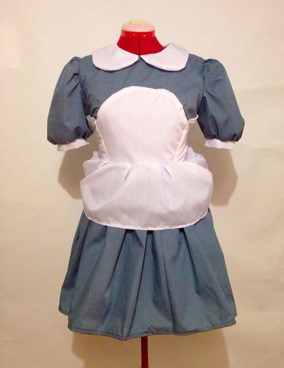 BioShock Little Sister Cosplay Dress- maybe ask if she could just make the dress itself and not the apron. Do apron yourself.