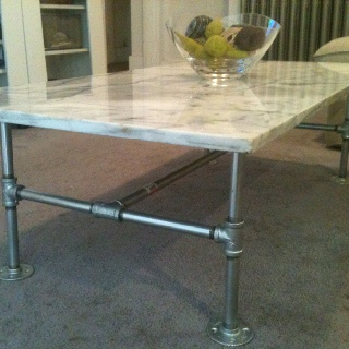 66 best images about galvanized pipe on pinterest for Table 85 hours