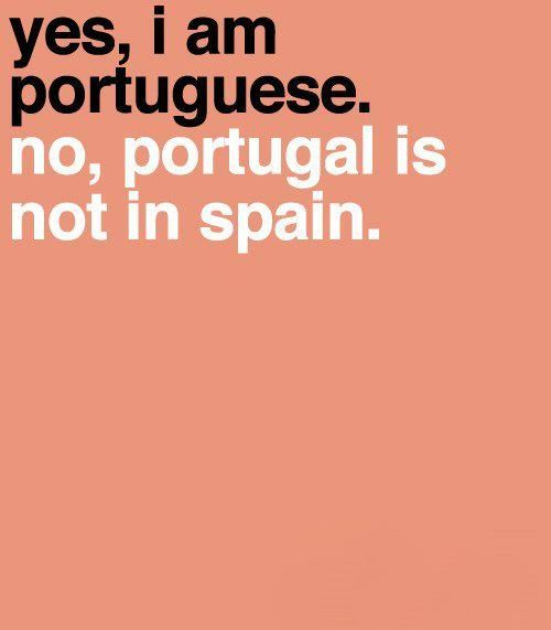 I hear this all too often. Or asked where in south America/ brazil it's located. We are European and our own country.