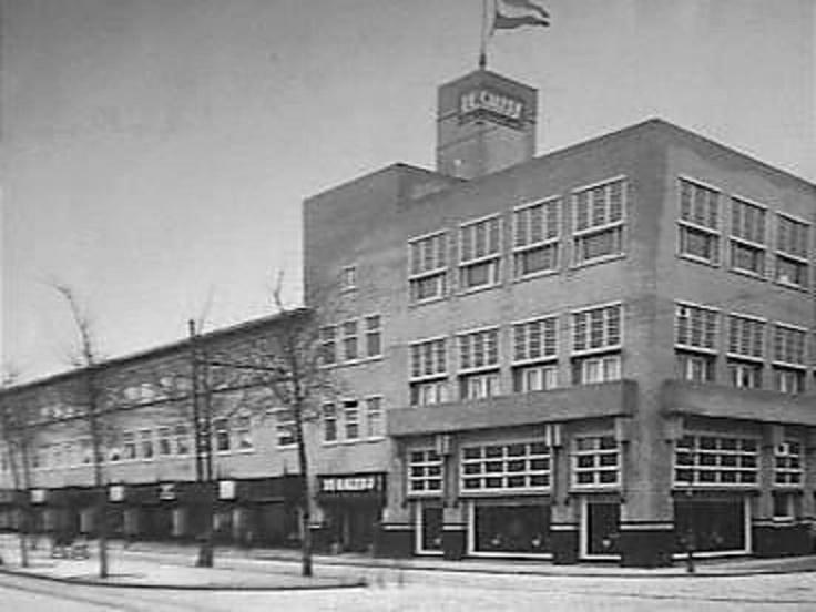 """""""De Galerij"""" hoek Laan van Meerdervoort / Fahrenheitstraat. 1926"""
