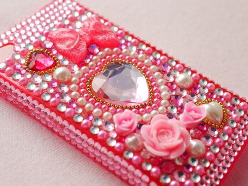 ...: Cell Phones Cases, I Phones Accessories, Cases Iphone, Pink Heart, Iphone Cases I, Cell Phones Covers, Cases Bling, Phone Covers, Pink Bling