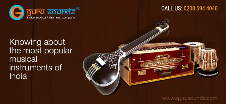 Knowing about the most popular musical instruments of India.