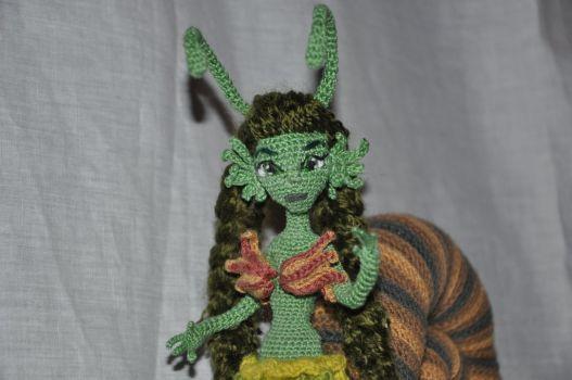 Doll amigurumi Snail (15) by Faurik