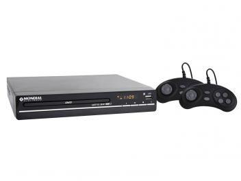 DVD Player Mondial D-07 com Karaokê Ripping - USB