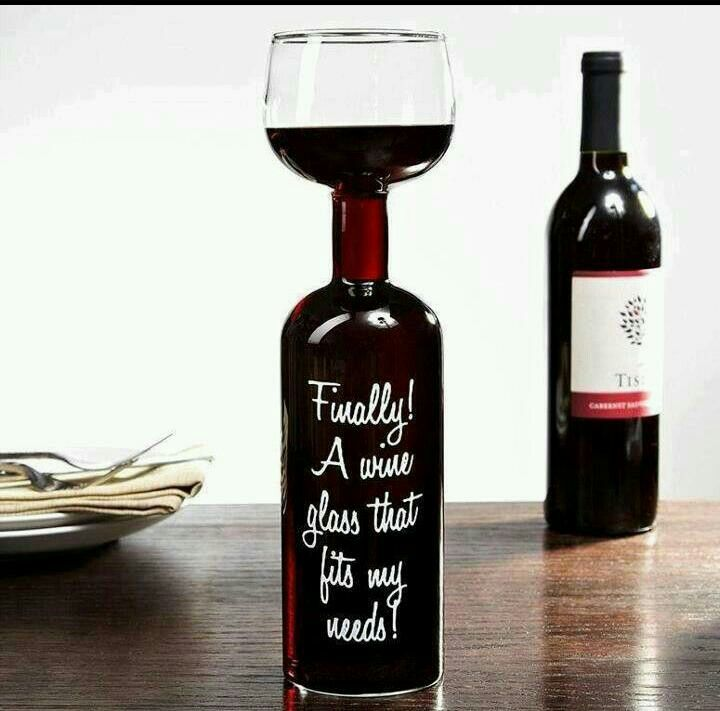Hahaha who can relate to this?  We can! #wine #wineglass