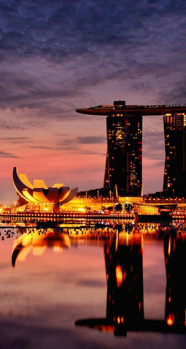 *m. And this is exactly what it looks like. One of my most fav trips. SL Marina Bay Sands, Singapore