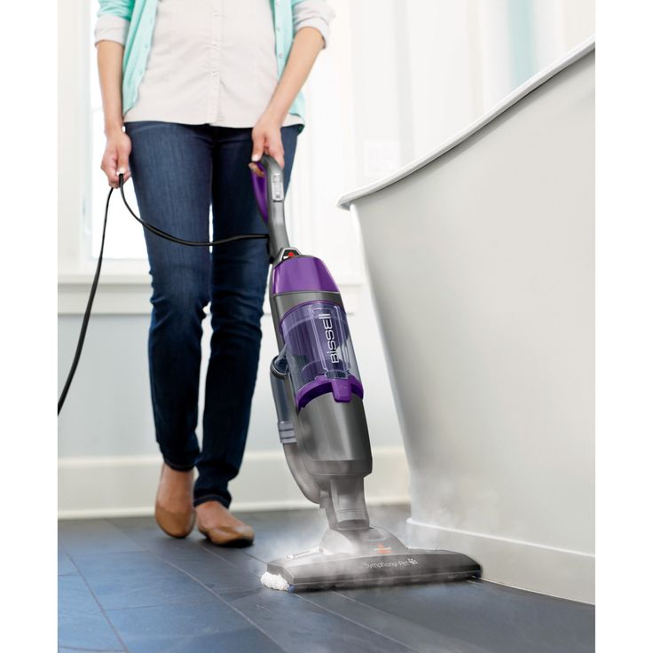 Bissell 1543 Symphony Pet Vacuum and Steam Mop - 1543