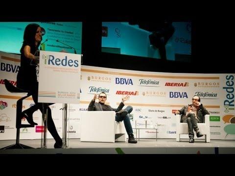 """Los mejores momentos de la conversación entre Risto Mejide y Agustín Fernández Mallo, en iRedes. El publicista y el escritor charlaron alrededor del tema: """"¿para qué sirven las Redes Sociales?"""""""