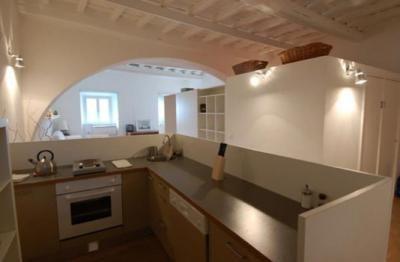Apartments in Rome - kitchen, small apartment - Piazza Santa Maria, Trastevere