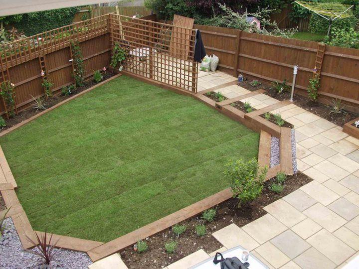 Wonderful Garden Ideas Using Sleepers Steps Backyard Decorating