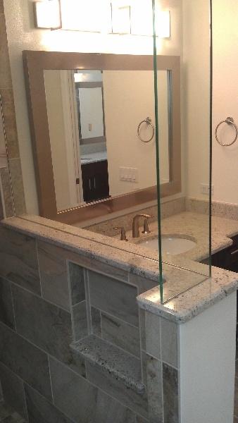 Best Shower Wall Images On Pinterest Knee Walls Bathroom