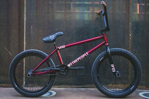 Dillon Lloyd BMX bike check from Eclat giving you a look at his signature Buck frame and bars from Wethepeople! http://bmxunion.com/daily/dillon-lloyd-bike-check-6/ #BMX