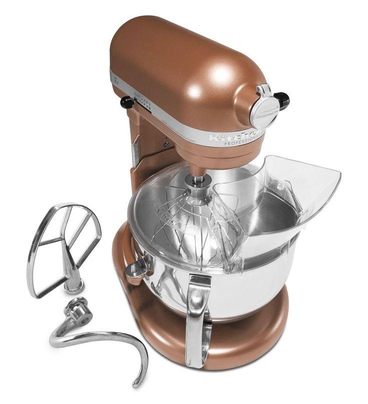 Kitchenaid Artisan 5 qt Stand Mixer Copper Pearl
