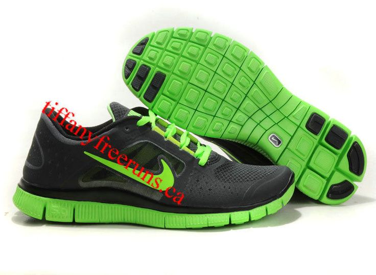 Mens Nike Free Run 3 Sequoia Electric Green Shoes...almost like running on  bare feet! | I am a runner | Pinterest | Green shoes