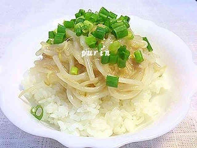 節約レシピ!もやしとツナのあんかけ丼の画像