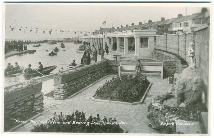 HUNSTANTON - PETER PAN GARDENS & BOATING LAKE - EMPIRE VIEW - REAL PHOTO | eBay
