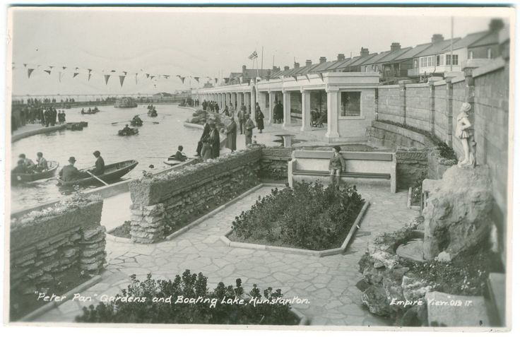 HUNSTANTON - PETER PAN GARDENS & BOATING LAKE - EMPIRE VIEW - REAL PHOTO | eBay