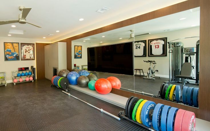 orange county home gym flooring with white ceiling fans contemporary and kettlebell rubber floor