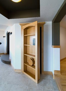 Basement Hidden Storage - Transitional - Basement - denver - by Finished Basement Company