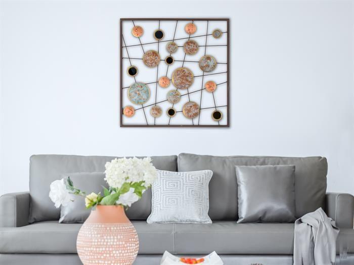 Wandbilder Wohnzimmer Modern. sofa mit grauem Überwurf ...