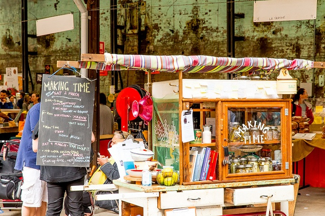 Eveleigh Market, first Sunday of the month
