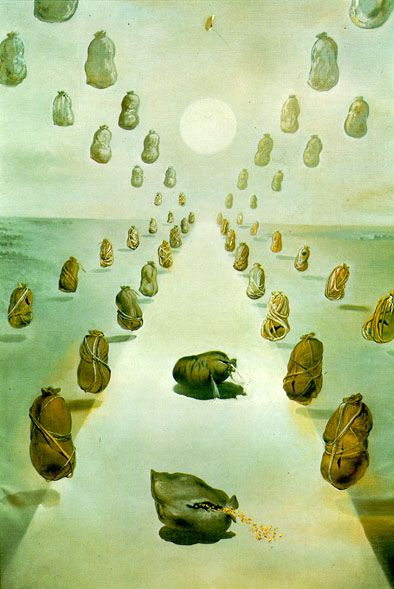 The Road of the Enigma (1981) by Salvador Dalí