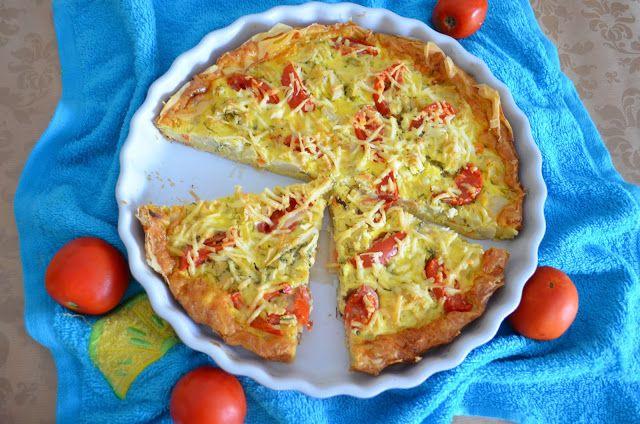 Enjoy Dessert!: Quiche cu conopida - Cauliflower Quiche