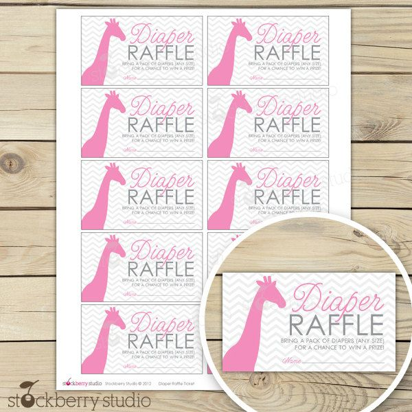 Pink+and+Gray+Chevron+Giraffe+Baby+Shower+by+stockberrystudio,+$3.00