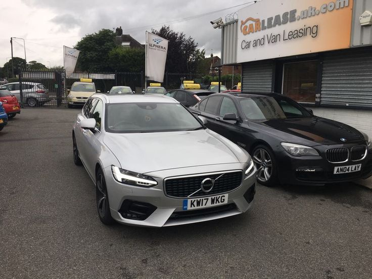 The Volvo V90 2.0 D5 PowerPulse R DESIGN Pro we had on site! #carleasing #luxury #cars