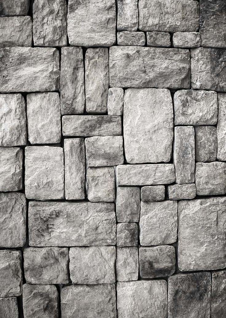 Papel Mural de piedra gris