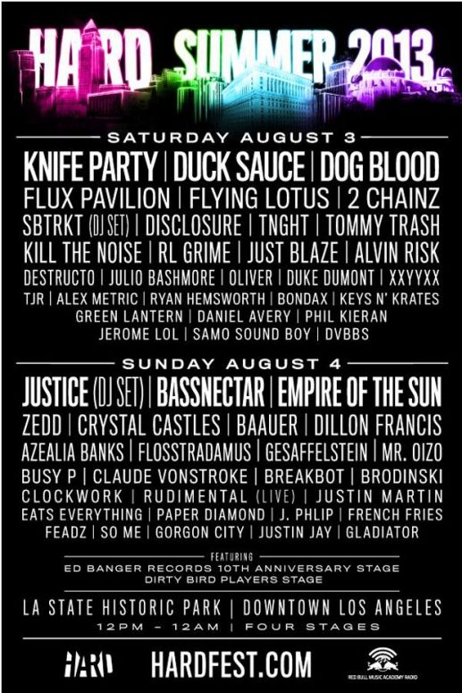 THIS WAS SUCH A SICK LINEUP!!! CANT WAIT FOR 2014