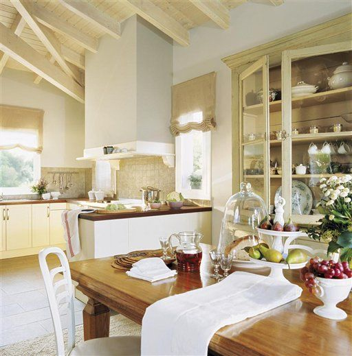 116 melhores imagens sobre cozinha linda no pinterest - Cocinas pequenas con encanto ...