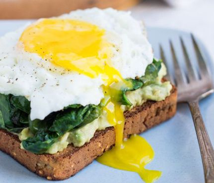 Fried Eggs Make Every Meal Better | Fried Eggs, Kale and Avocado