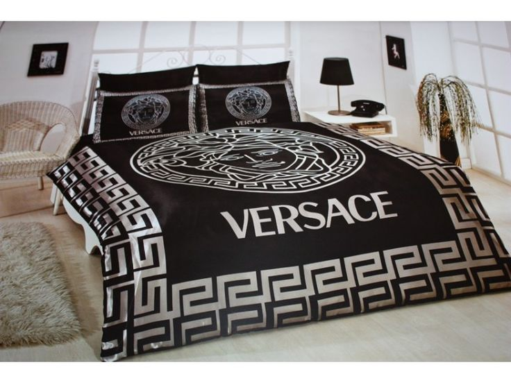 black satin comforter versace bedding set satin medusa