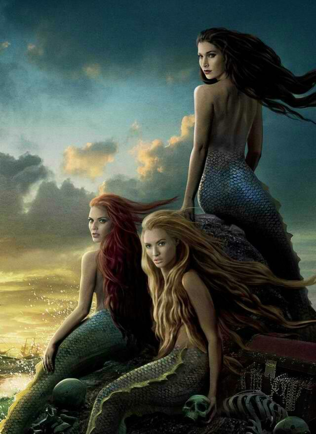 I thought this a beautiful picture of how stunning and mysterious these fantasy creatures can be.