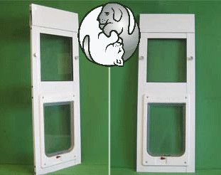 The Ideal Hefty Pet Side Sliding Window Pet Door Insert Features An  Aluminum Frame, With