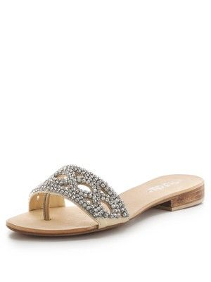 Bethan Jewelled Flat Sandals, http://www.very.co.uk/carvela-bethan-jewelled-flat-sandals/1380364970.prd